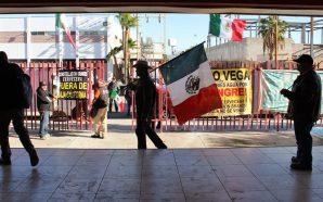 Rechaza IEEBC actos violentos en manifestaciones públicas