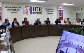 Define IEEBC coalición de MORENA, PT, PVEM y Transformemos, serán por encuesta las Candidaturas a Alcaldías