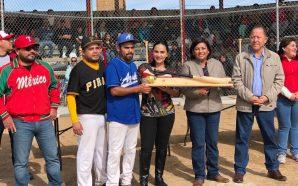 Nereida Fuentes inaugura modernización de campo de béisbol en Valle…