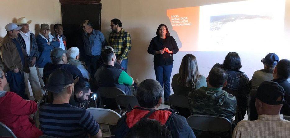Presentan proyecto de Planta de Segregación, Separación y Disposición Final de Residuos para Cerro Azul