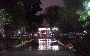Se registran importantes lluvias en Tecate