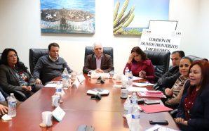 Sesiona Comisión de Asuntos Fronterizos que preside diputado Héctor Mares