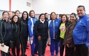 Nereida Fuentes inaugura la modernización del Gimnasio Agustín Mondragón