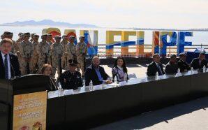 Encabeza Gobernador Francisco Vega ceremonia del 102 Aniversario de la Promulgación de la Constitución Política de México