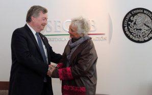 Se reúne Gobernador Kiko Vega con Secretaria de Gobernación