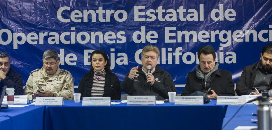Reitera Gobernador Kiko Vega a la ciudadanía a no bajar la guardia ante la presencia de lluvias fuertes en la región