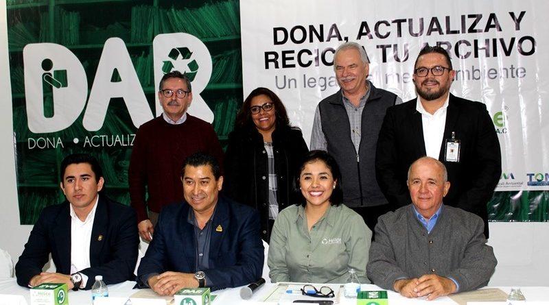 Participa Gobierno del Estado en el arranque de la campaña dona, actualiza y recicla 2019