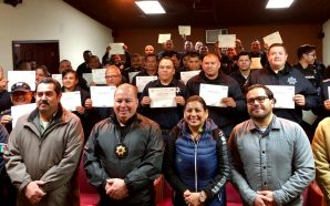 Policías Municipales de Tecate se profesionalizaron