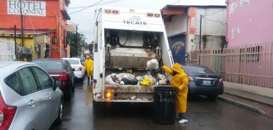 Departamento de Limpia le cumple a Tecate