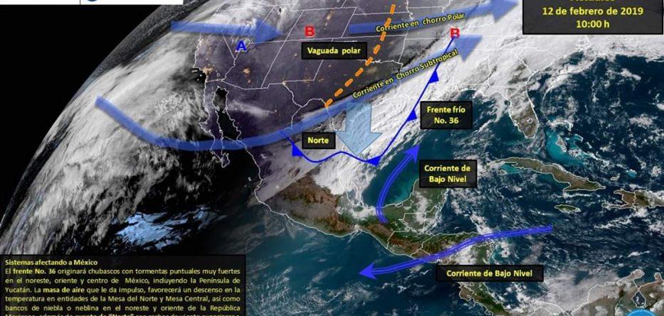 Actualización sobre condiciones climáticas en la región