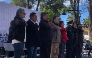 En Tecate conmemoran a la Bandera Nacional Mexicana