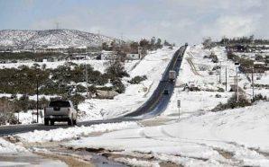 Prevén nevada en La Rumorosa
