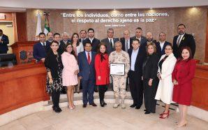 Congreso rinde homenaje al Ejército Mexicano en su CVI aniversario