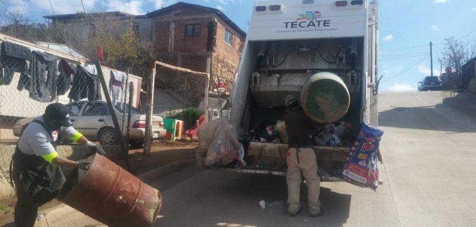 Casi 200 toneladas de basura son recolectadas durante dos días