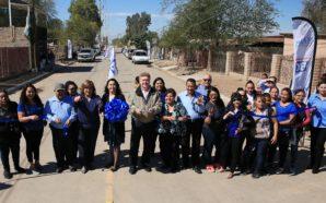 Entrega Gobernador Kiko Vega obra de pavimentación