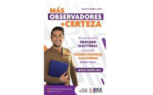 Continúa abierta convocatoria para observadores electorales
