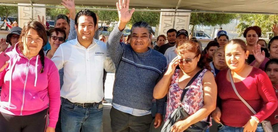 Atiende Gobierno del Estado a residentes de la Zona Rural y Urbana de Tecate en materia social