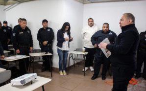 Capacitan a policías de Tecate en materia de violencia de…