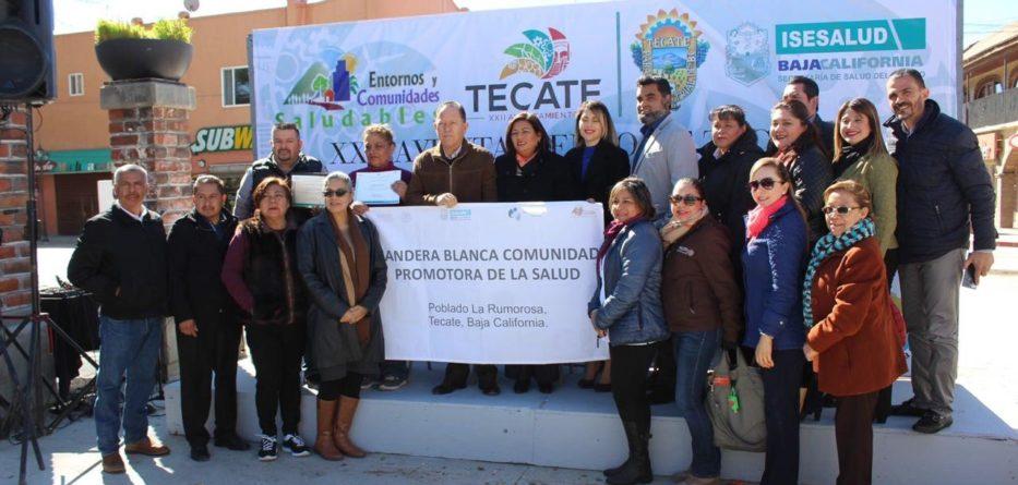 """Certifican al poblado de la Rumorosa como """"Entorno Saludable"""""""