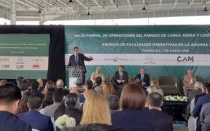 Inicia operaciones parque de carga aérea y logística Tijuana Matrix