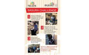 """Invitan a la comunidad a participar en el reto """"basura challenge"""""""