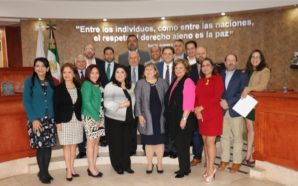 Cónsul General de EUA en Tijuana visita el Congreso del Estado