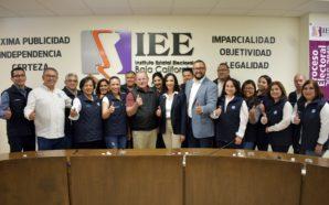 Quedó registrada como candidata a presidente municipal Eloísa Talavera ante el IEEBC