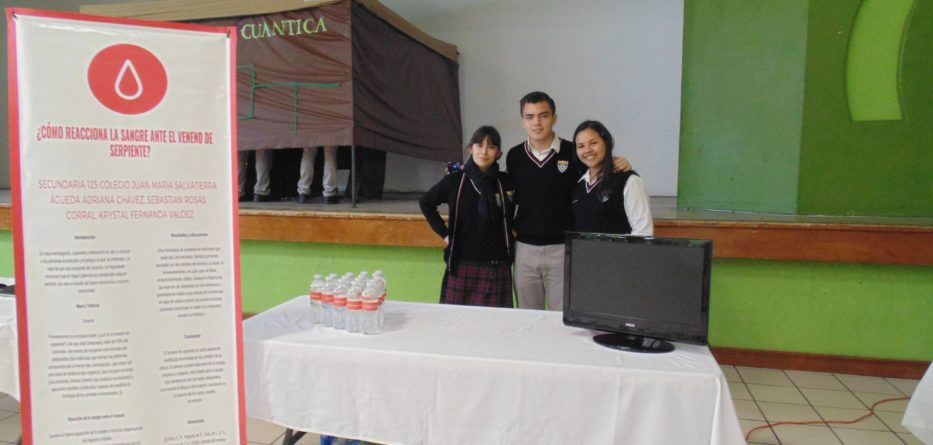 Participan alumnos de secundaria en el concurso de Ciencia y Tecnología 2019 Etapa Municipal