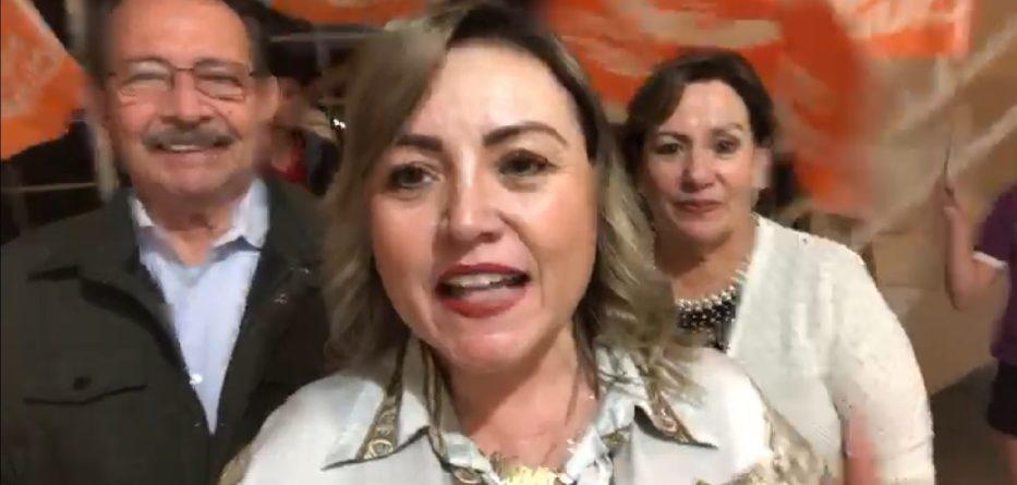 Inicia Carmen Romero campaña por la alcaldía de Tecate