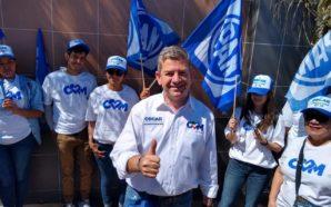 Yo voy a ser quien trabaje junto con AMLO: Óscar Vega Marín
