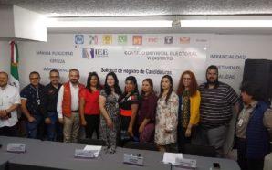 Abanderado MC a Judith Armenta como su candidata al Distrito VI