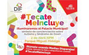 Iluminarán Palacio Municipal de Tecate como símbolo de inclusión