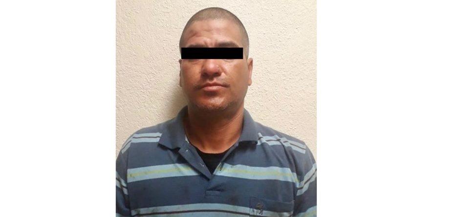 La municipal captura a sujeto que presuntamente desmanteló vehículo en la Hacienda