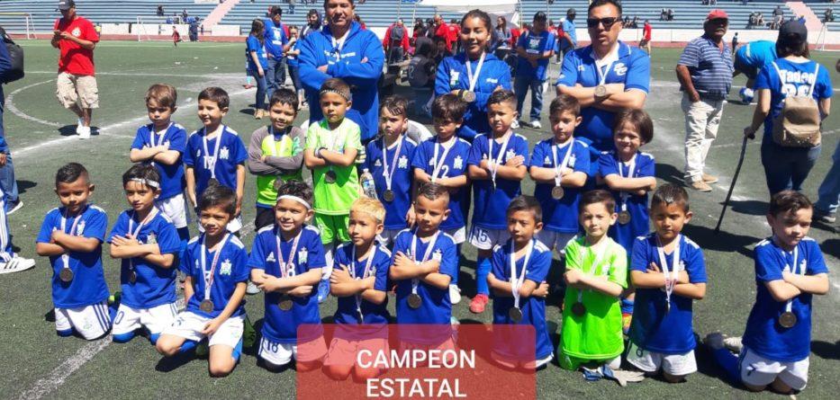 Viven fiesta de fútbol infantil mixto en Ensenada