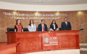 El Dip. Edgar Benjamín Gómez Macías presidirá la mesa directiva de la XXII Legislatura