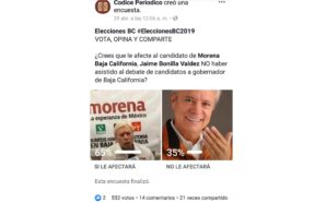 Sí afectará a Jaime Bonilla el no asistir al debate