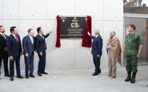 Participa Gobernador Francisco Vega en inauguración del C5i de Hidalgo