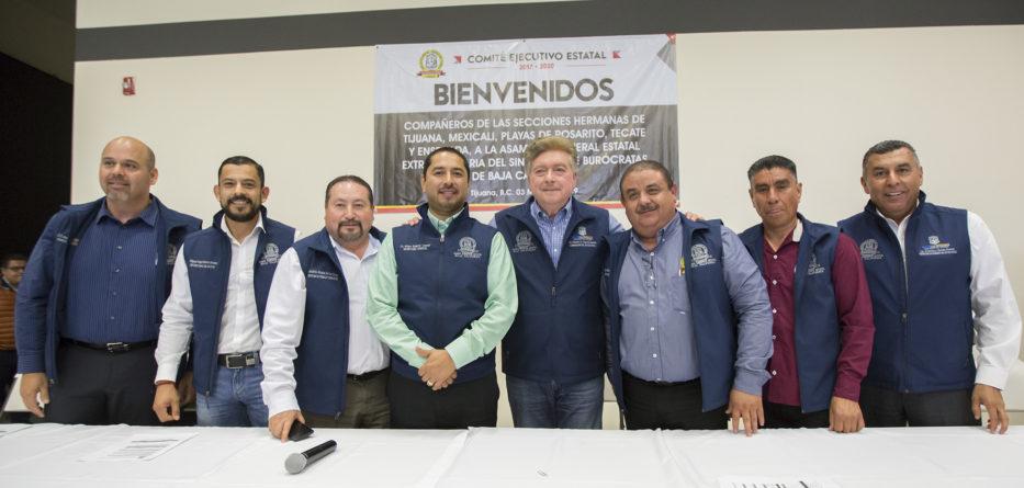 Pactan Gobernador Francisco Vega y Sindicato de Burócratas condiciones generales de trabajo 2019