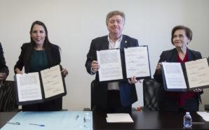Atestigua Gobernador Kiko Vega firma de convenio en favor de los derechos humanos de mujeres y la erradicación de la violencia de genéro