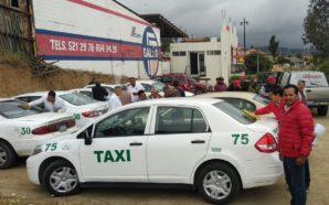 Reciben taxistas independientes proyecto de Javier Urbalejo
