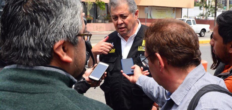 Jaime Bonilla evidencia su pantomima política al marchar con los priístas: Martínez Veloz