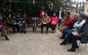 Reunión de Javier Urbalejo con vecinos de la colonia Encanto Sur
