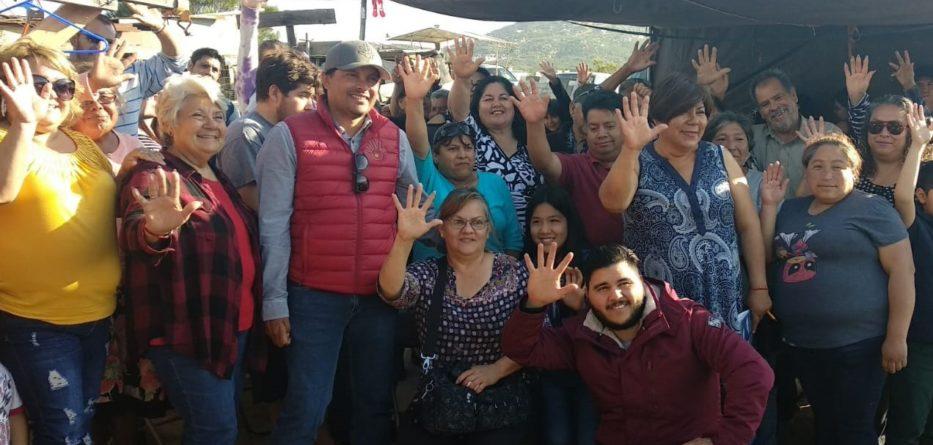 Reunión con vecinos de colonias Piedra Angular y Presidentes con Javier Urbalejo Cinco