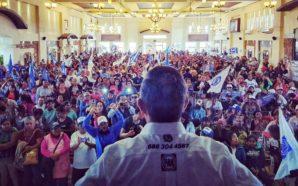 La gente no se equivoca, vamos a ganar: Oscar Vega Marín