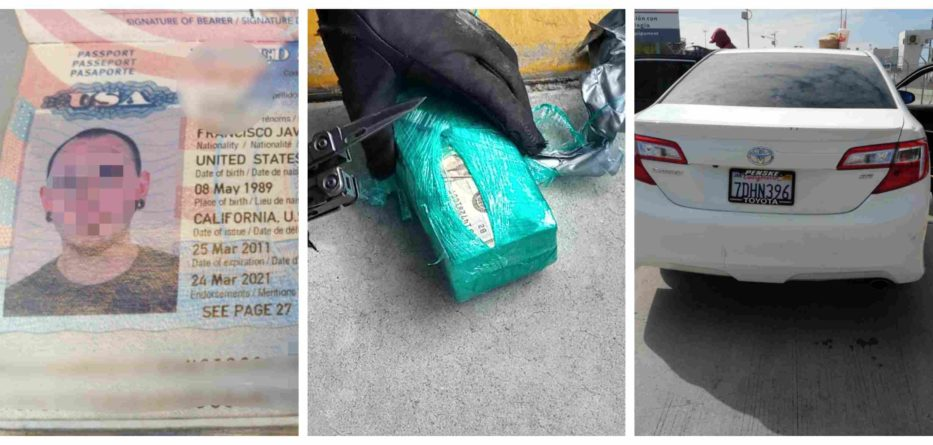 Millonario decomiso en la aduana de Tijuana