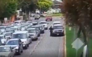 Aseguran que camioneta de Jaime Bonilla artopelló a una persona