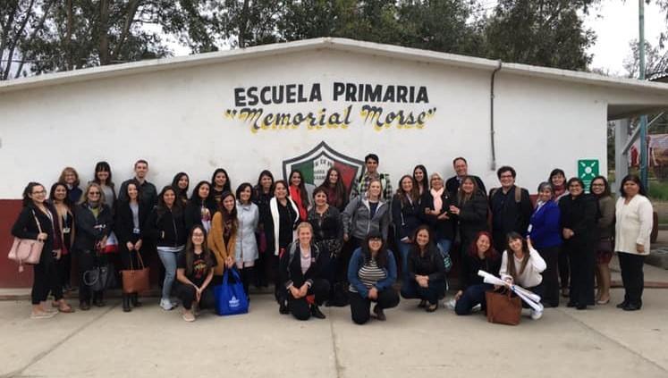 Primaria Memorial Morse primer escuela Bilingüe en el Estado