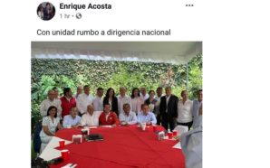 Atacan ex priístas a Enrique Acosta Fregoso en redes sociales