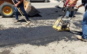 Gobierno Municipal realiza rehabilitación de vialidades en San Pablo
