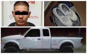 Capturan en flagrancia a presunto delincuente en Zona Centro